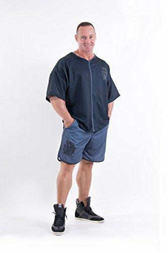 Nebbia Hardcore Fitness Shorts 302 (Grey, M)