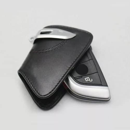 BHYUDYT Carcasa del Soporte de la Caja de la Cubierta de la Llave Inteligente del Coche, para BMW F15 F16 F48 5/7 Serie F10 520li Accesorios
