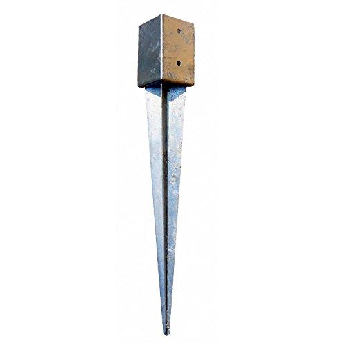 8 x Bodenhülsen 91x91 75cm lang Erdanker Einschlagbodenhülse Einschlaghülse