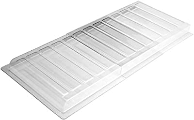 """Ventilaider Air Vent Extender for Under Furniture, Includes Installation Tapes, Improved Stronger Plastic Material, Fits Floor Registers Up to 11"""" Wide, Extends from 17""""-30"""""""