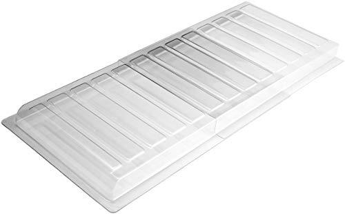 Ventilaider - Extensor de ventilación para debajo de los muebles, incluye cintas de instalación, material plástico más fuerte mejorado, se adapta a registros de piso de hasta 11 pulgadas de ancho, se extiende de 17 a 30 pulgadas.