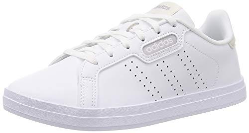 adidas Courtpoint Base, Zapatillas de Tenis Mujer, Ftwbla Ftwbla Griorb, 39 1/3 EU