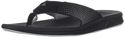 Reef Boys Rover Sandal, Black, 2-3 Medium US Little Kid