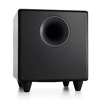 Audioengine S8 B Active Satin Subwoofer - Black from Audioengine