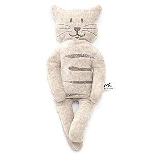 Bio Kräuter-Kuschling Katze beige/braun