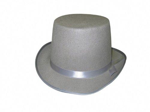 Party Pro 843244701 Blanc Gibus Feutre, gris