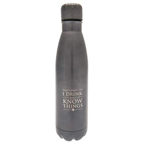 Game Of Thrones Mdb25400 Botella de Acero, Unisex Adulto, Multicolor, 500 ml