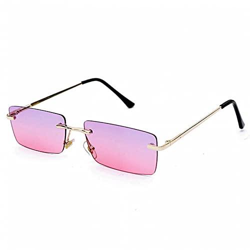 LUOXUEFEI Gafas De Sol Gafas De Sol Con Montura Cuadrada Gafas De Sol Rectangulares Para Mujer