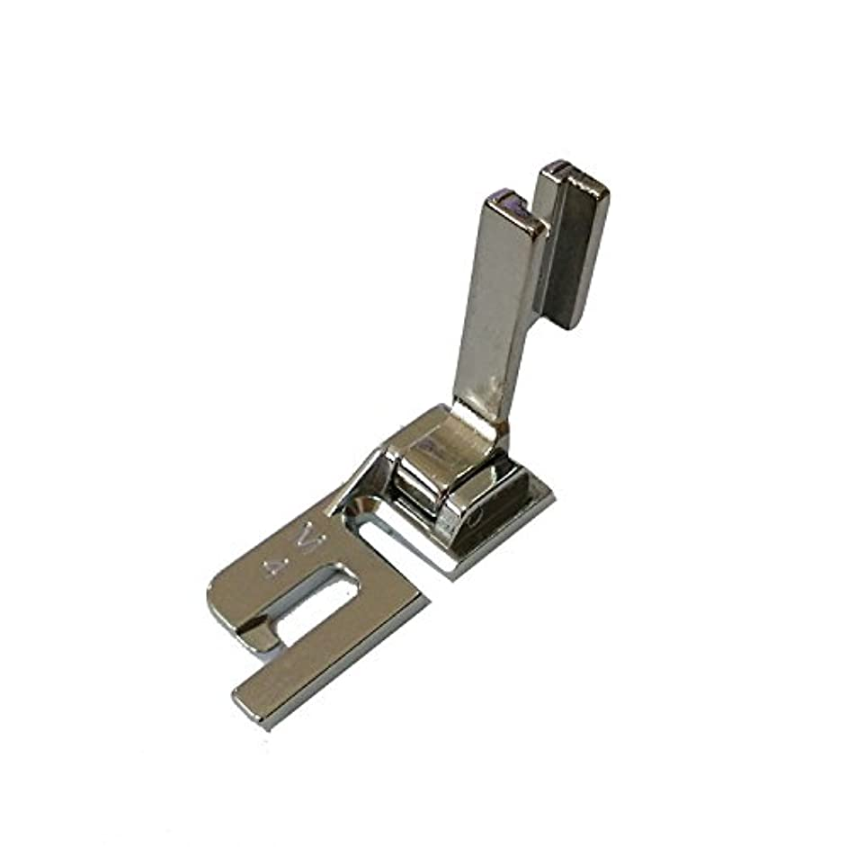 HONEYSEW High Shank Felling Presser Foot (4MM) For Husqvarna Viking Mega Quilter P60961