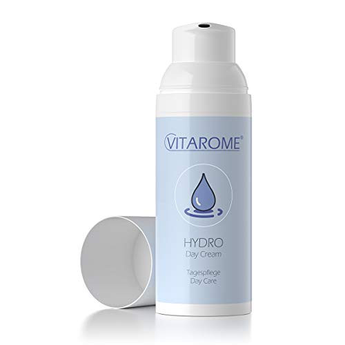 Vitarome HYDRO dagkräm med intensivt fuktskydd, utan paraber, 50 ml