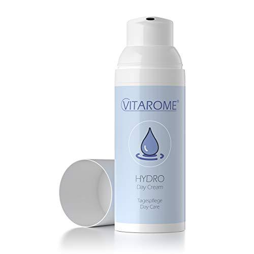 Vitarome - Crema hidratante intensiva de día HYDRO, sin parabenos, 50 ml