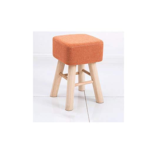 BKWJ Reposapiés, Sillas y Taburetes de Habitación, Taburete Cuadrado, Taburetes, Taburete de pie de Mesa de café, 26x26x40cm (Color : C)