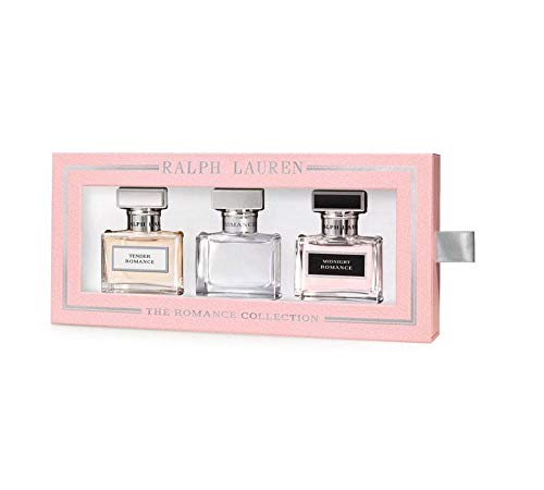 The Romance Collection Ralph Lauren Eau de Parfum Spray Set: Romance + Midnight Romance + Tender Romance $168 VALUE