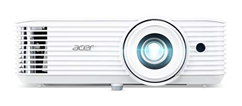 Acer X1527i DLP Beamer (Full HD (1.920 x 1.080 Pixel) 4.000 ANSI Lumen, 10.000:1 Kontrast, Keystone, 3 Watt Lautsprecher, HDMI (HDCP), Audio Anschluss) Home Cinema / Business