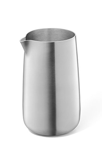 ZACK LECHERA D.6,8 H.11,5 CM, Acero Inoxidable, Silber/Braun, 6,8 x 6,8 x