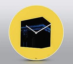 Wall Clock Pop Art - Yellow