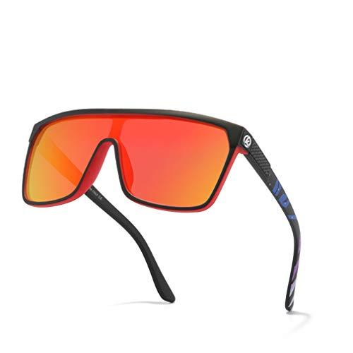 Gafas De Sol De Ciclismo Gafas De Bicicletas, Gafas De Sol Polarizadas Deporte Ciclismo Al Aire Libre Reflejado, Conduciendo Copas Polarizadas De Ciclismo para Hombres Mujeres,A