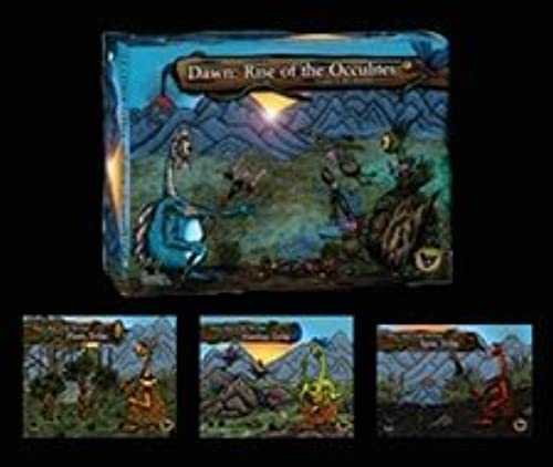 Dawn  Rise of the Occulites (Base Set with 3 Expansions) (Painted) by Eagle Games by Eagle