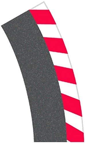 Carrera - rail et accessoire pour circuit - 20020564 - 1/24 et 1/32 - Carrera Evolution -Carrera Digital 132 et 124 - Bordures extérieures pour les virages relevés 1/30° (6), embouts (2)