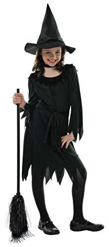 amscan Costume de sorcière Little Black Witch - Âge 4-6 ans - 1 pièce - 997479