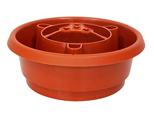 UPP Bewässerungsringe Aquaringe | Bewässerungsystem mit Schneckenschutz undVerbinder für Rankhilfe | Gartenhelfer für Tomaten, Paprika, Bohnen [4 STK.]