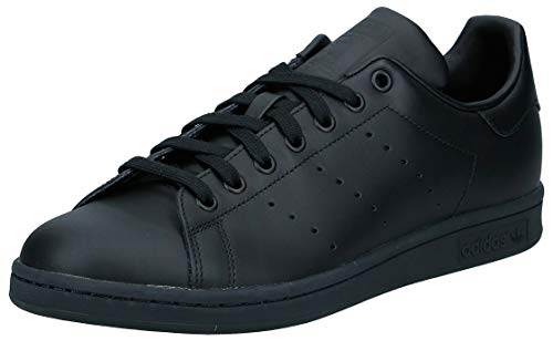 adidas Originals, Stan Smith, Sneakers, Unisex - Adulto, Nero (Core Black), 44 EU