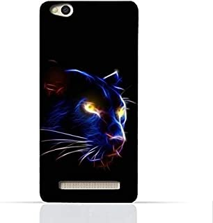 Xiaomi Redmi 4A TPU Silicone Case With Panther Eye Design