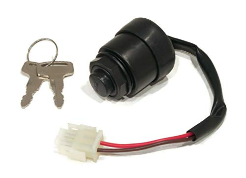 The ROP Shop | Key Switch for 1985-1991 Yamaha G2 Golf Carts with 4 Cycle Gas, Electric Engines