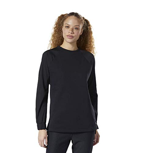 Reebok Damen Training Supply Midlayer Hosen, schwarz, X-Small