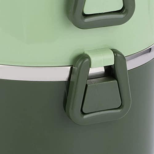 ZLQBHJ Scatola di pranzo isolata Bento Box, Contenitore for il pranzo del thermos della scatola del cibo, scatola del pranzo termica portatile dell'acciaio inossidabile, for gli utensili da cucina del