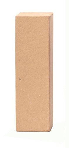 Glorex 6 2029 109 - Papp - Buchstabe I, Buchstabe aus brauner Pappe, ca. 17,5 X 5,5 cm groß, zum bemalen und bekleben, für Serviettentechnik und Décopatch, ideal als Dekoration
