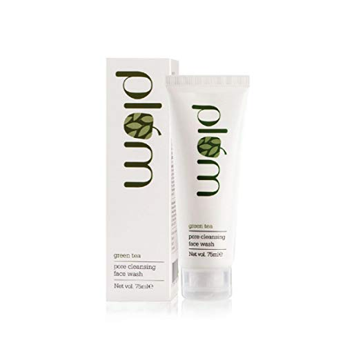 Plum Green Tea Pore Cleansing Face Wash | Acne Face Wash | Oily Skin | Bright, Clear Skin | 100% Vegan | 100% Paraben Free | 75ml