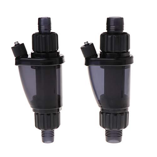 CADANIA CO2 Difusor Atomizador Acuario Dióxido de Carbono Tanque de Peces Plantas acuáticas Hierba - para 12 / 16mm