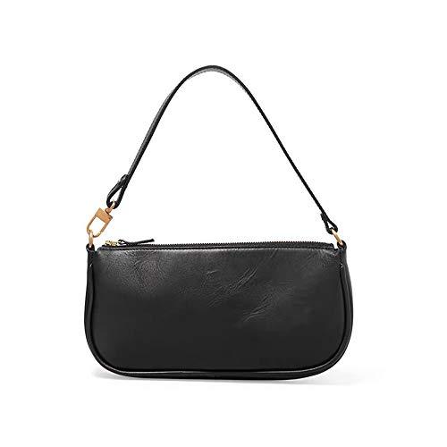 Women Clutch Bag,Retro Pattern Baguette Bag for Women,Clutch Purse for Women,Shoulder Bag Handbags for Party Wedding (one size, Black Matte)