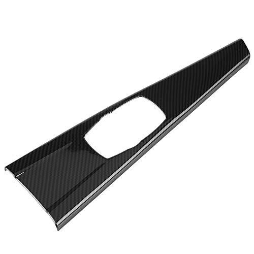 Kohlefaser Auto Fenster Schalter Dekoration ABS Interieur Multimedia Panel Cover Trim Türgriff Armlehnenverkleidung für 3 Series F30 F34 4 Series F33 F36