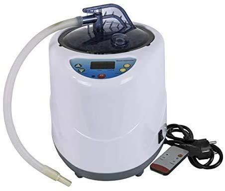 TOPQSC Home Sauna Dampfer, Dampfsauna Generator Tragbar Faltbares Dampfsaunazelt Home SPA Zubehör Mobile Schnellmontage und Demontage (1000W)
