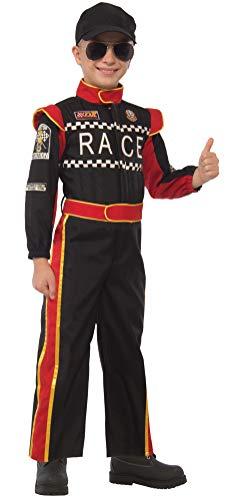 Forum Novelties Child's Race Car Driver Costume, Large