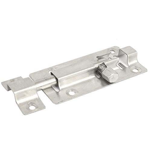 New Lon0167 Gate Lock Featured Safety Stainless Steel Reliable Efficacy Door Latch Docking Connecting Bolt Hasp Stapler 3' Long(id:a6c 28 64 f8f)