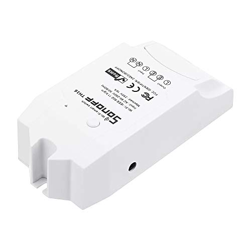 Verwisselbare Accessoires LDTR-WG0283 DIY 16A 3500W Chic Home-WIFI Wireless temperatuur vochtigheid thermostaat Module APP Buiten Controle Switch Socket Met AM2301 temperatuur en vochtigheid Sensor