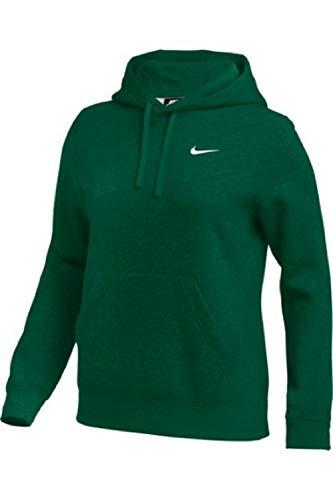 Nike Womens Pullover Fleece Hoodie (Green, X-Large)