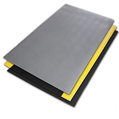 Preisvergleich Produktbild Anti-Ermüdungsmatte Soft-Tritt / Arbeitsplatzmatte / Grau / 60x90 cm