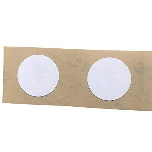 YARONGTECH NFC Tag Sticker (10 Stück) selbstklebend | NTAG216 Chip Tags Aufkleber | 888 Byte Speicher | read & write | kompatibel mit allen NFC bzw. RFID Lesegeräten & Android Smartphone Apps