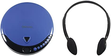 Max 84% OFF Craig 35% OFF CD2808-BL Personal CD Player with and B Headphones in Blue