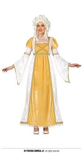 Fiestas Guirca Rokoko / Barock Kleid Damen - Sissi Kostüm Damen - Größe M 38 – 40 - Königin Kostüm Damen Karneval, Adliger Faschingskostüme Damen Prinzessin, Mittelalter Prinzessin Kostüm Fastnacht