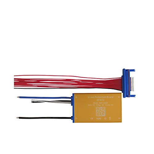 13S 48V (54,6V) 25A Slim Li-Ion BMS Temperatur Sensor Balance Switch sehr dünn eBike