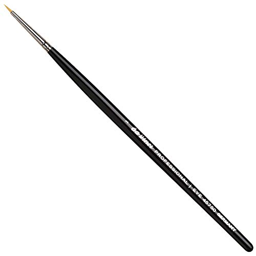 da Vinci Cosmetics Professional Series 45750 - Eyeliner Brush, Pointed Round, Fine Synthetic Fibers - For precise application of Kohl Kajal, humid powder, liquid eyeliner and gel eyeliner
