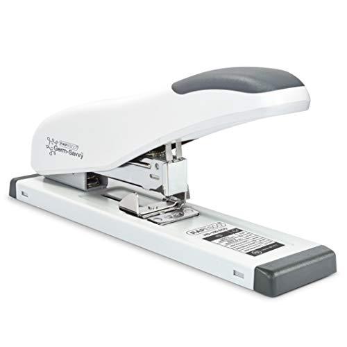 Rapesco Heavy Duty Stapler, ECO HD-100, 100 Sheet Capacity, White (1386)