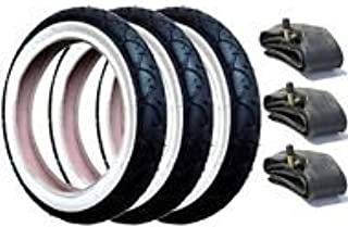 with Slime Protection Tyre and Inner Tube Set for Phil /& Teds E3