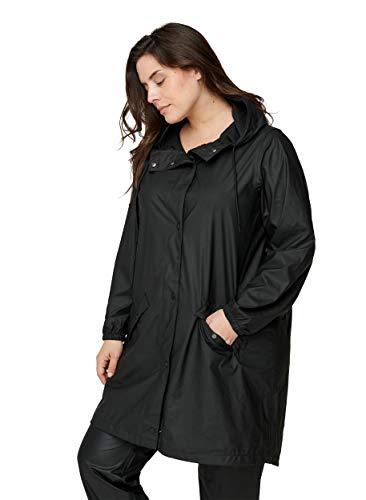 Zizzi Große Größen Damen Regenjacke Knöpfe Kapuze Gr 42-56