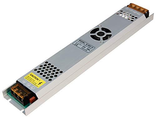 McShine 1326071 Transformateur électronique pour transformateur 220-240 V Fonctionne avec ampoules LED basse tension 12 V 300 W